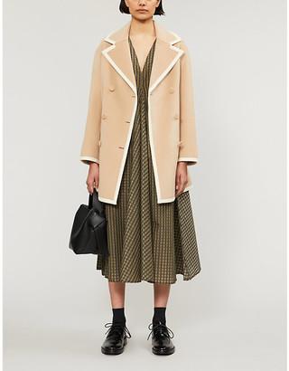 Claudie Pierlot Galerie wool coat