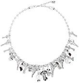 Uno de 50 Alguna Abrira Statement Necklace, 16""