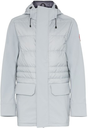 Canada Goose Breton hooded feather down jacket