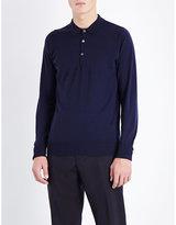 John Smedley Merino Wool Polo Shirt