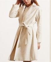 Lauren Ralph Lauren Wool-Cashmere-Blend Wrap Coat