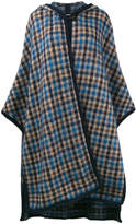 Stella McCartney long checked cape