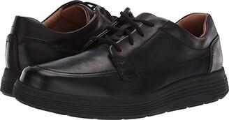 Clarks Un Abode Ease (Black Leather) Men's Shoes