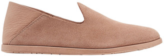 Pedro Garcia Yeira Suede And Leather Collapsible-heel Loafers