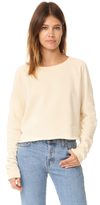 Wildfox Couture Monte Crop Sweatshirt