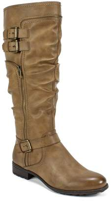 White Mountain Footwear Ranger Faux Leather Buckle Boot
