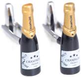 Bey-Berk Champagne Bottle Cufflink