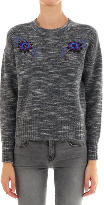 Kenzo Embroidered Flower Sweater