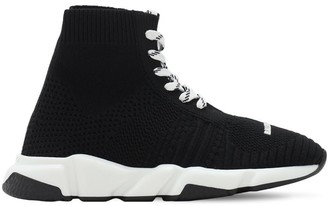 Balenciaga Speed Knit Lace-up Sneakers