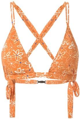 Clube Bossa Blume printed bikini top