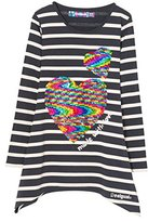 Desigual Girl's TS_LINX Long Sleeve Top,(Manufacturer size: 3/4)