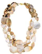 Viktoria Hayman Mother of Pearl Three Strand Necklace