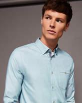 Semi Plain Cotton Shirt