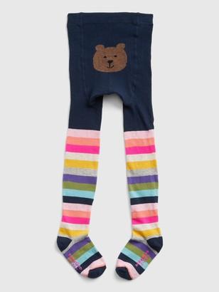 Gap Toddler Brannan Bear Stripe Tights