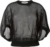 Givenchy fishnet top