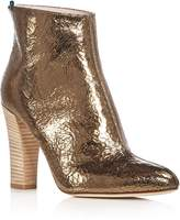 Sarah Jessica Parker Minnie Metallic High Heel Booties