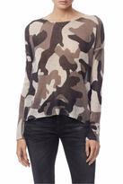 Skull Cashmere Camo Skull Sweater