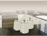 Morphy Richards Dimensions Set of Three Storage Canisters Ivory Cream