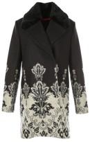 Rene Derhy Long Coat with Pattern