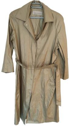 Ramosport Gold Trench Coat for Women