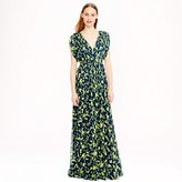 J.Crew Claire dress in floral chiffon