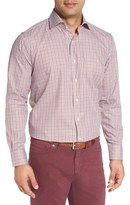Peter Millar Men's Alpine Regular Fit Check Sport Shirt