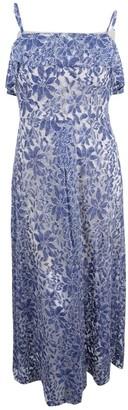 Jessica Simpson Women's Floral Lace Maxi Dress