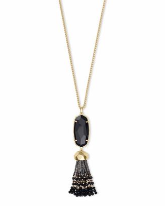 Kendra Scott Eva Long Pendant Necklace in Gold