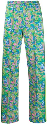 Marc Jacobs Paisley Track Pants