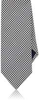 Barneys New York MEN'S CHECKED SILK NECKTIE