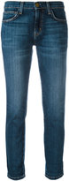 Current/Elliott straight cropped jeans - women - Cotton/Polyester/Spandex/Elastane - 24