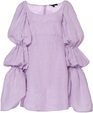 Ellery Capri Crepe De Chine Dress