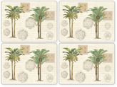 Pimpernel Vintage Palm Study Placemats (Set of 4)