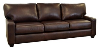 Brompton Westland And Birch Kenmore Studio Leather Sofa Westland and Birch Upholstery Color Brown