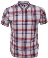 Ralph Lauren Short Sleeved Check Shirt Red