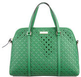 Kate Spade Perforated Leather Satchel