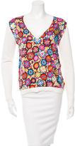 Emilio Pucci Silk Printed Sweater