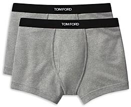 Tom Ford Cotton Blend Boxer Briefs, Set of 2
