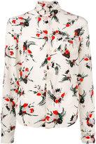 Marni floral printed shirt - women - Silk - 44