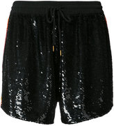 Ashish sequin shorts - women - Silk - S