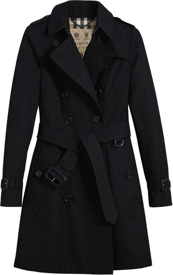 Burberry The Chelsea mid-length trench coat