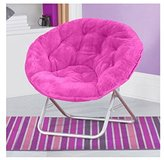 Very Comfortable Mainstays Faux-Fur Saucer Chair (Pink)