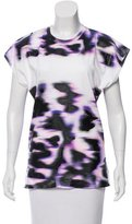 Balenciaga Abstract Print Sleeveless T-Shirt w/ Tags
