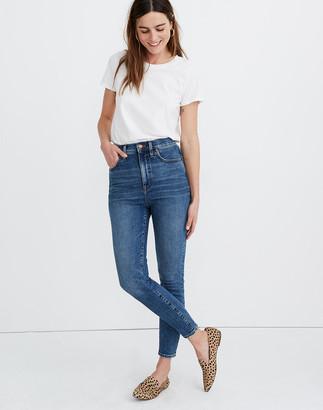 "Madewell 11"" High-Rise Skinny Jeans in Longridge Wash"