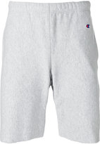 Champion embroidered logo track shorts - men - Cotton/Polyester - M