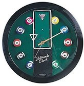 StealStreet SS-CQG-8116 Decorative Hanging Billiard Sports Themed Collectible Wall Clock