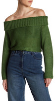 Tibi Knit Silk Cropped Pullover