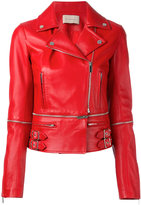 Christopher Kane leather biker jacket