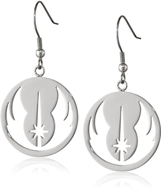 Star Wars Jewelry Jedi Order Stainless Steel Dangle Earrings (SALES1SWMD)