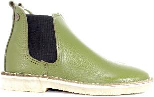 Jonny's Kaki Chelsea Boots - 36